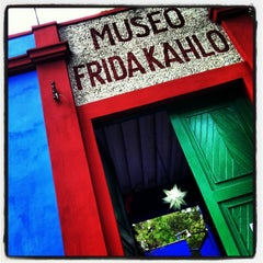 Photo taken at Museo Frida Kahlo by Elena P. on 3/8/2013