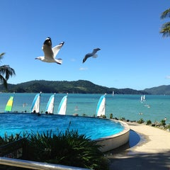 Photo taken at Hamilton Island by Ernani L. on 3/30/2013