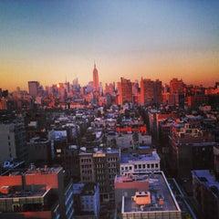 Photo taken at Sheraton Tribeca by Alexandra P. on 4/25/2013