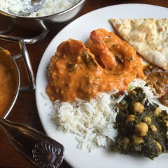 Photo taken at Brick Lane Curry House by Will H. on 1/23/2015