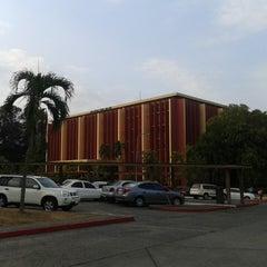 Photo taken at Biblioteca Simón Bolívar by Ricardo S. on 4/2/2014