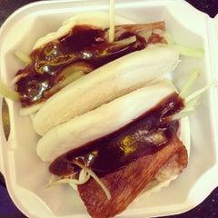 Photo taken at Peking Duck Sandwich Stall by Joe N. on 1/3/2014