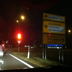 Photo taken at Rüsselsheim by Daniel B. on 12/24/2012
