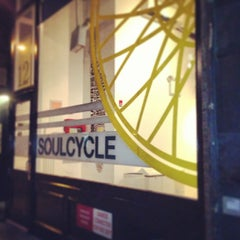 Photo taken at SoulCycle Union Square by Alyce R. on 8/12/2013
