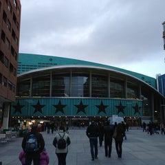 Photo taken at Barclaycard Center - Palacio de Deportes de la Comunidad de Madrid by José B. on 1/13/2013