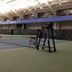 Photo taken at The Racquet Club by Chris K. on 12/28/2013