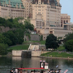 Photo taken at Fairmont Château Laurier by Audie on 5/1/2013