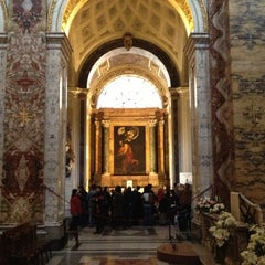 Photo taken at Chiesa di San Luigi dei Francesi by Trevor R. on 4/6/2013