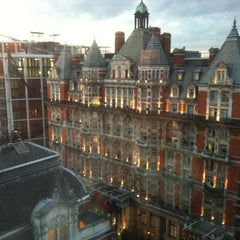 Photo taken at The Park Tower Knightsbridge by Diego R. on 10/30/2012