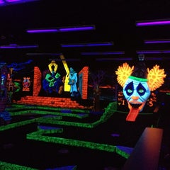 Photo taken at Monster Mini Golf by Michael D. on 6/26/2013