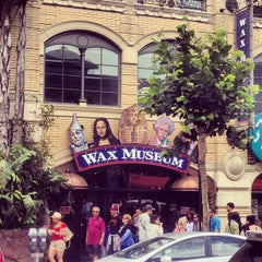 Photo taken at Wax Museum at Fisherman's Wharf by River M. on 8/17/2013