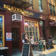 Photo taken at The Brazen Head by John E. on 6/21/2014