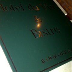 Photo taken at Hotel du Vin & Bistro by Nabeel A. on 11/3/2012