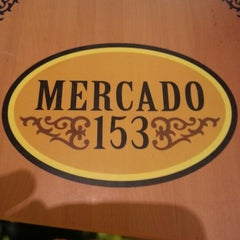 Photo taken at Mercado 153 by William V. on 11/10/2012