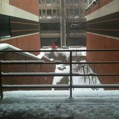 Photo taken at Schine Student Center by David P. on 2/1/2013