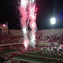 Photo taken at Memorial Stadium by James K. on 10/13/2012