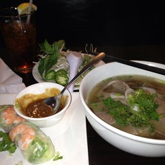 Photo taken at Pho Real Vietnamese Restaurant by Christina on 7/15/2013