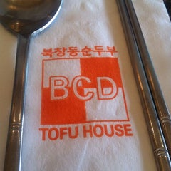 Photo taken at BCD Tofu House by John S. on 10/4/2012