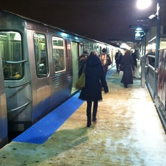 Photo taken at CTA - Southport by Bill D. on 12/27/2012