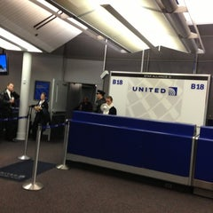Photo taken at Gate B18 by Troy P. on 1/22/2013