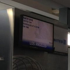 Photo taken at Gate B16 by Troy P. on 3/12/2013