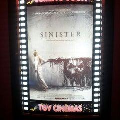 Photo taken at TGV Cinemas by Bat R. on 10/13/2012