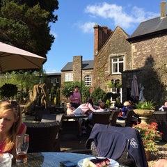 Photo taken at The Priory Restaurant & Hotel Caerleon by Emily Z. on 4/18/2014