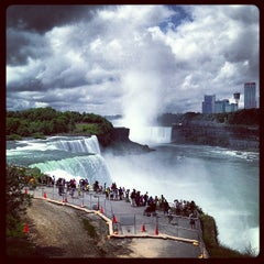 Photo taken at Niagara Falls (American Side) by Mahmoud Z. on 6/29/2013