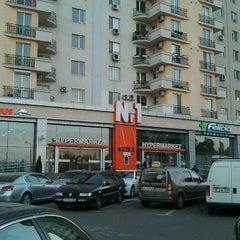 Photo taken at Hypermarket Nr. 1 by Natalya B. on 10/21/2012