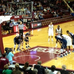 Photo taken at TD Arena, College of Charleston by Logan K. Y. on 1/11/2013