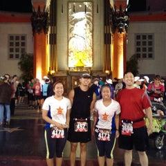 Photo taken at Hollywood Half Marathon & 5k / 10k by Chelsey O. on 4/5/2014