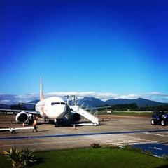 Photo taken at Aeroporto de Joinville / Lauro Carneiro de Loyola (JOI) by Gilson G. on 1/24/2013