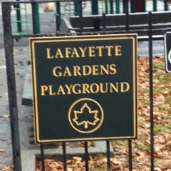 Photo taken at Lafayette Gardens Playground by Jay F. on 12/9/2012