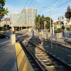 Photo taken at San Fernando VTA Station by Adí on 9/14/2012