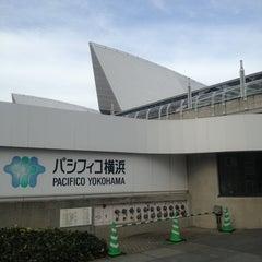Photo taken at パシフィコ横浜 (PACIFICO YOKOHAMA) by Eiichiro N. on 2/7/2013