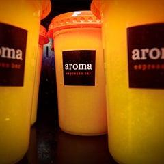 Photo taken at Aroma Espresso Bar by Aroma E. on 4/3/2013