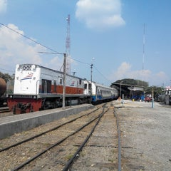 Photo taken at Stasiun Rantauprapat by Argo P. on 3/17/2015