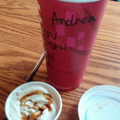 Photo taken at Starbucks by Andrea B. on 11/6/2014