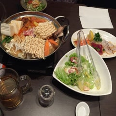 Photo taken at WATAMI Japanese Casual Restaurant by Stephen B. on 2/19/2015