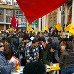 Photo taken at Paço Municipal by Fernando P. on 6/2/2014