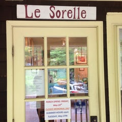Photo taken at le sorelle by David V. on 5/17/2014