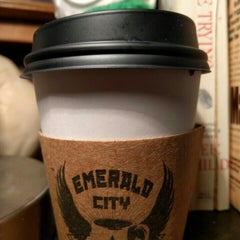 Photo taken at Emerald City Coffee by eryn o. on 4/18/2016