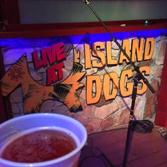 Photo taken at Island Dogs Bar by Dan N. on 5/7/2015
