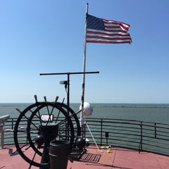 Photo taken at Lake Erie by Roger L. on 6/10/2015