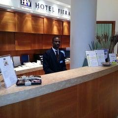 Photo taken at Hotel Fiera by Davide I. on 4/7/2013