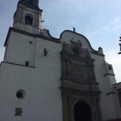 Photo taken at La Parroquia De San Gabriel Arcángel by Jaime P. on 12/31/2015