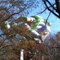 Photo taken at Macy's Parade Balloon Inflation 2012 by Gizelle M. on 11/23/2012