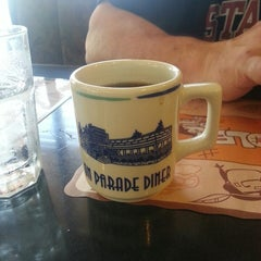 Photo taken at On Parade Diner by Remy W. on 4/28/2013