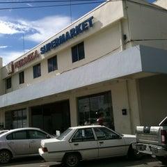 Photo taken at Merdeka Supermarket by Selina L. on 11/13/2012