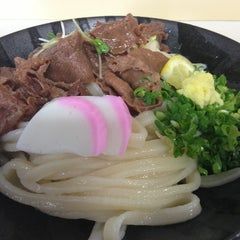 Photo taken at 久米池うどん by 健雄 川. on 8/2/2013